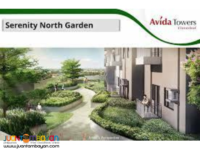 pre selling studio condo Avida Towers Cloverleaf Quezon City