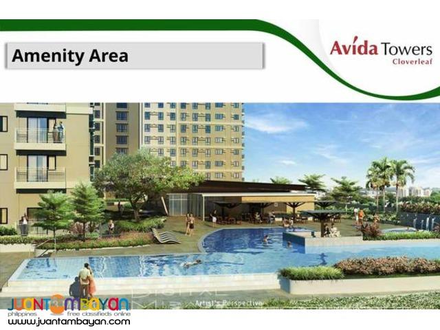 pre selling 2 bedroom condo Avida Towers Cloverleaf