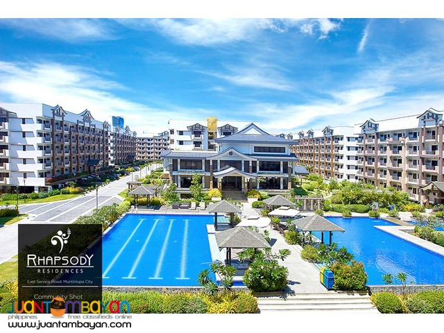 Condo Ready For Occupancy in Alabang Rhapsody