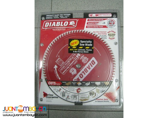 Freud D1084L 10-inch Diameter 84t TCG Saw Blade with 5/8-inch Arbor
