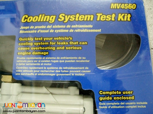 Mityvac MV4560 Cooling System Automotive Radiator Test Kit