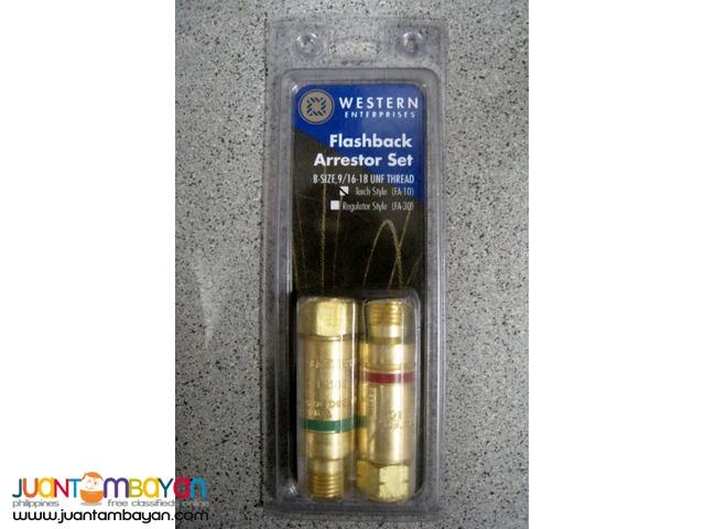 Western Enterprises FA10 Torch Style Flashback Arrestor Set