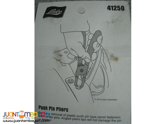 Lisle 41250 Push Pin Pliers