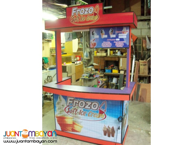 Food Cart and Mall Kiosk - Cart & Kiosk Fabrication