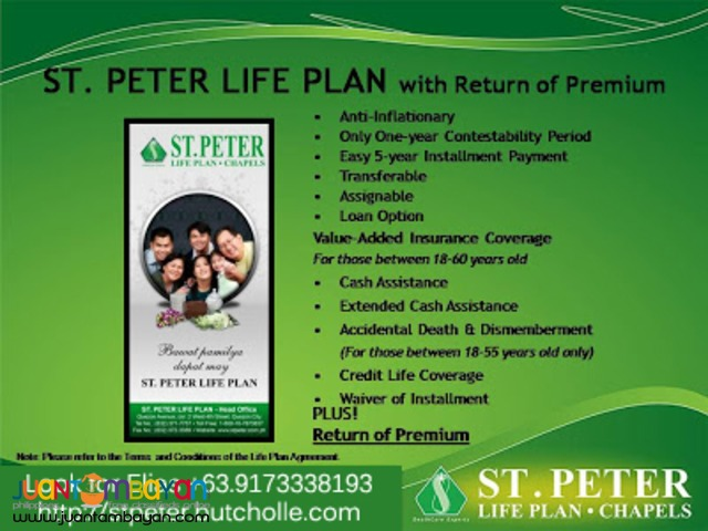 St. Peter Plan (Memorial & Funeral Service)