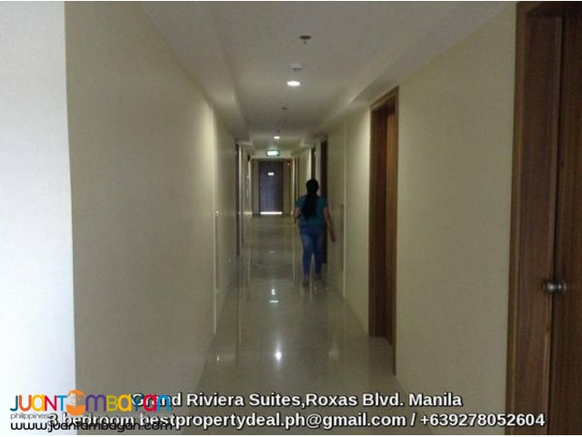 prime spacious 2 bedroom condo for sale near airport UP Manila