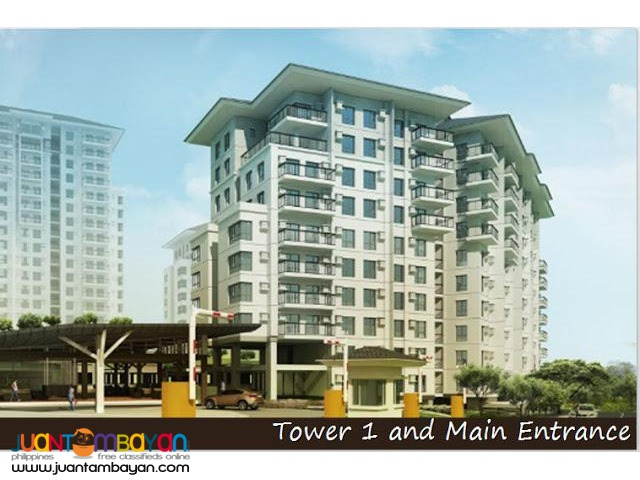 Ayala 1 bedroom condo for sale in Tagaytay Avida Towers Serin East