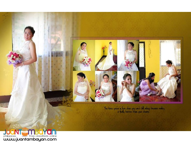 Wedding photographer sta maria with same day edit