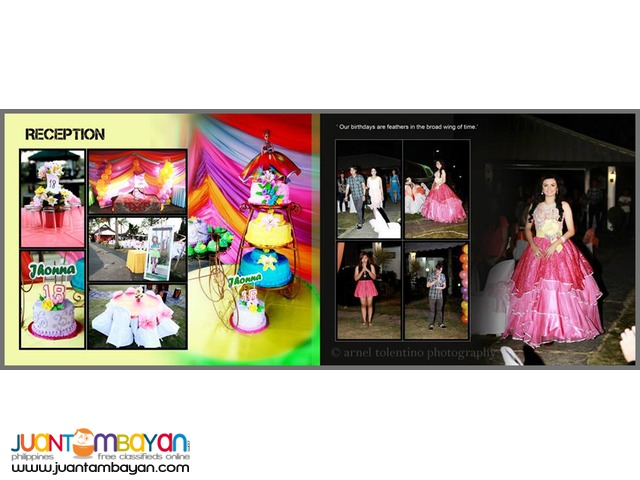 Debut Photographer for hire in bulacan