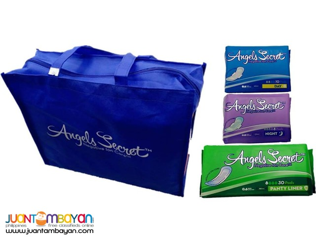 ANGEL SECRET SANITARY NAPKIN WITH NEGATIVE ION