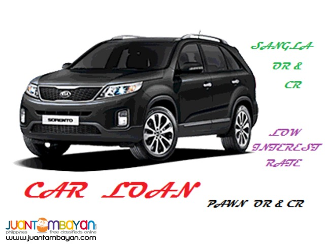 Sangla Pawn OR CR as collateral Car loan