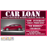 CAR LOAN PAWN SANGLA OR/CR LOW INTEREST NO HIDDEN CHARGES PASIG
