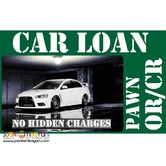 car loan - pawn OR/CR WITHOUT TAKING YOUR CAR PASIG