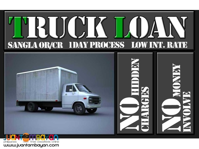 truck loan low interest 1 day release pawn sangla OR/CR
