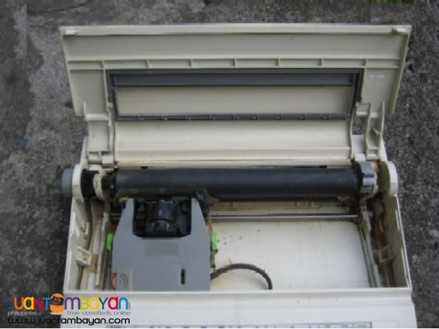Canon electric typewriter (defective)