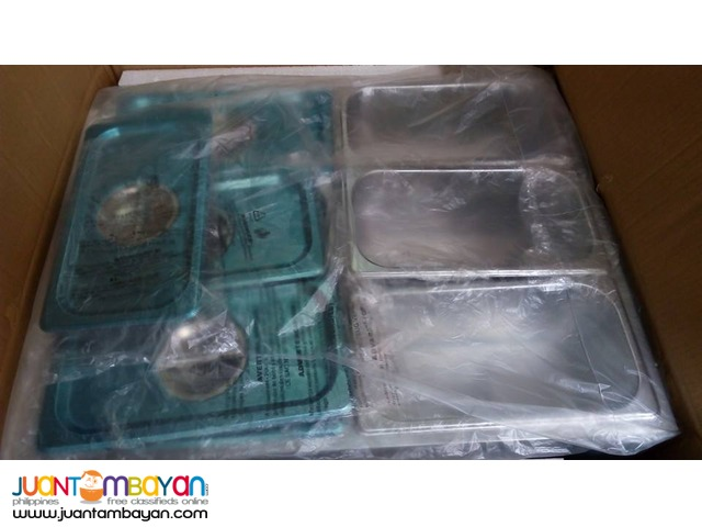 Bain Marie 5 Basin with glass cover