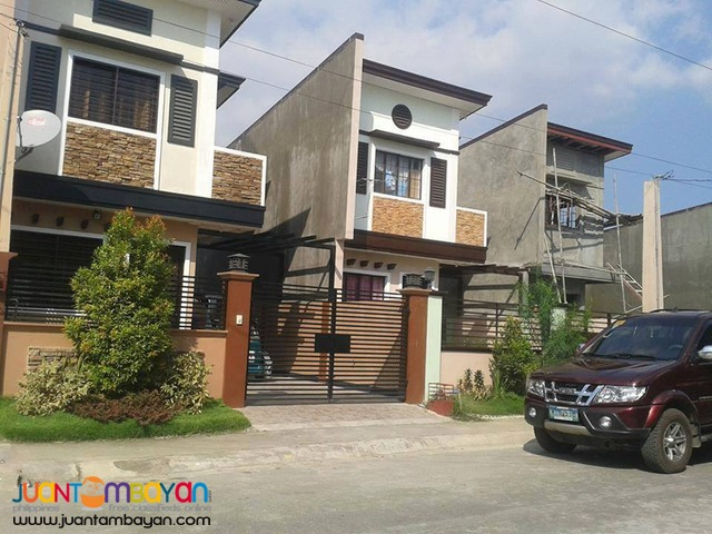 3BR Single Attached House and Lot in San Mateo Rizal