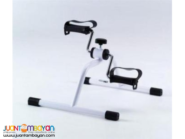 PEDAL EXERCISER FOLDING WITH ADJUSTABLE RESISTANCE,FOOT STRAP