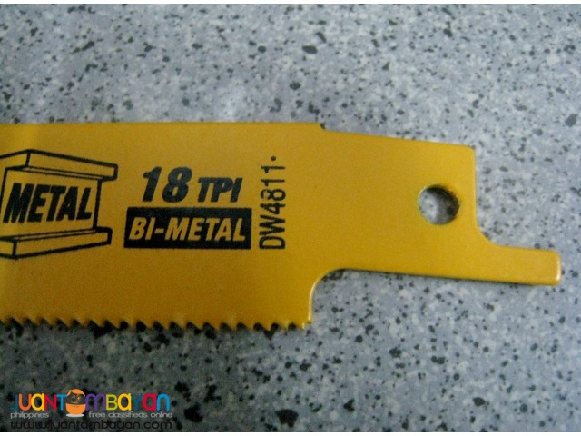 DeWalt DW4811 6-inch 18TPI Reciprocating Saw Blade (5 pcs)