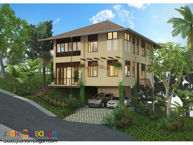 4 BR house for sale in balamban w/ organic garden at the backyard