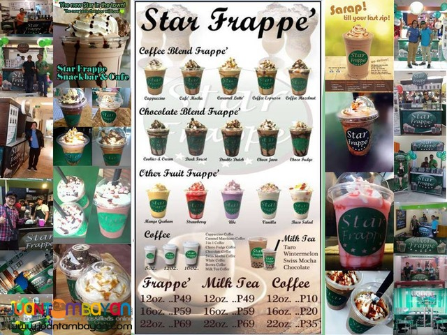 Star Frappe Food Cart Franchise Kiosk 99k only 0917-1254451