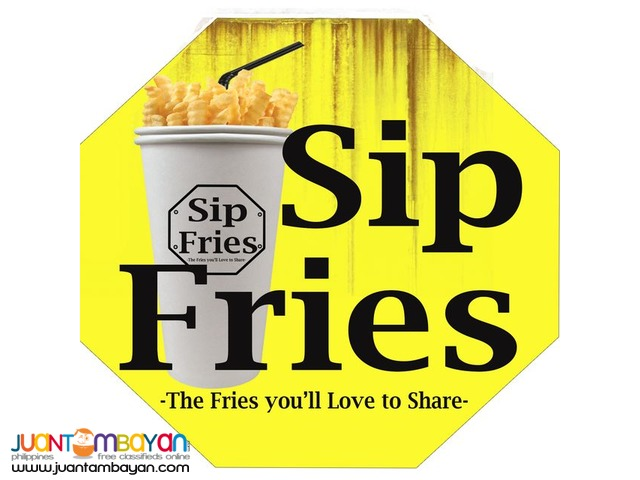 Sip Fries Food Cart Franchise Promo 0917-1254451/ 0939-9163425