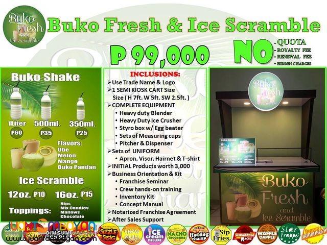 Buko Fresh and Ice Scramble 0917-1254451/ 0939-9163425