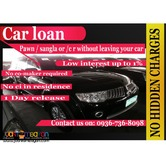 car loan-quick cash loan at low interest w-out taking your car