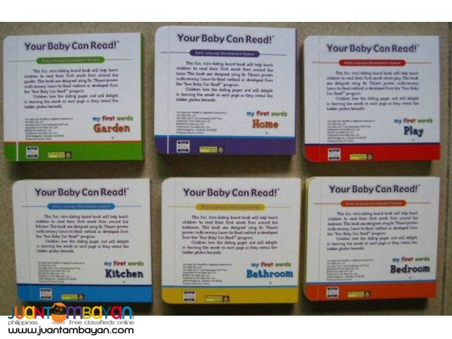 Your Baby Can Read Six Mini Sliding Book