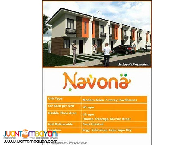 HOUSE & LOT FOR SALE NAVONA CORDOVA LAPU LAPU CITY