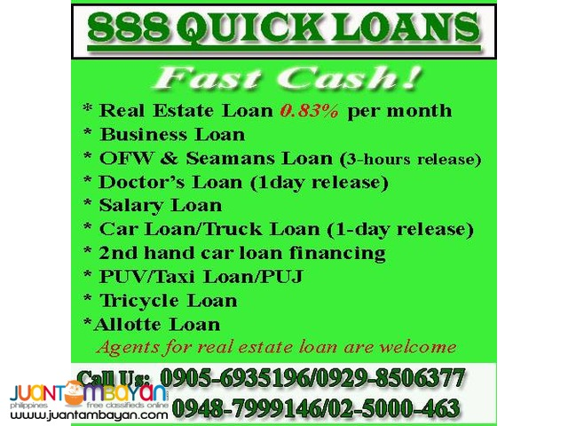 888 Quick Loans
