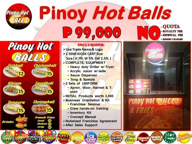 Pinoy Hot Balls