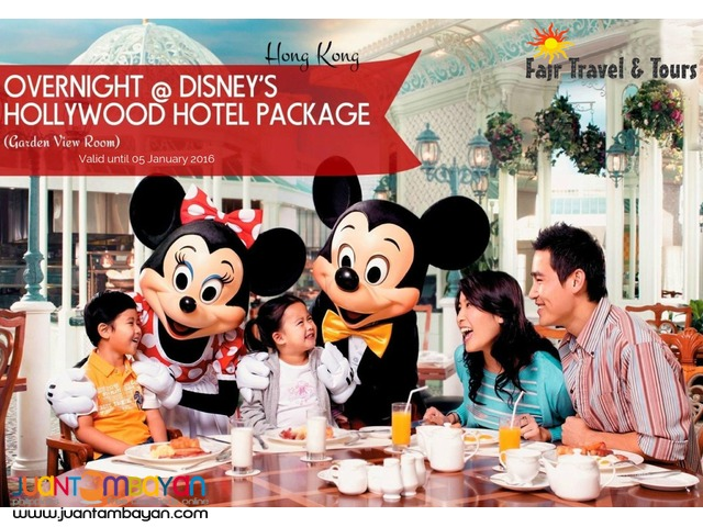 HONG KONG DISNEY HOLLYWOOD HOTEL PACKAGE