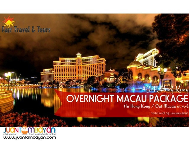 HONG KONG - MACAU PACKAGE