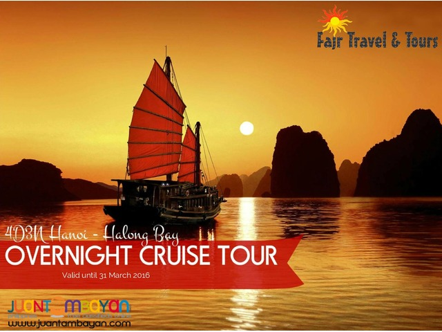 4D3N HANOI - HALONG BAY OVERNIGHT CRUISE TOUR