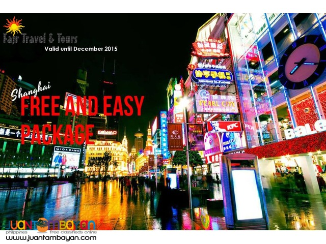 SHANGHAI FREE & EASY PACKAGE