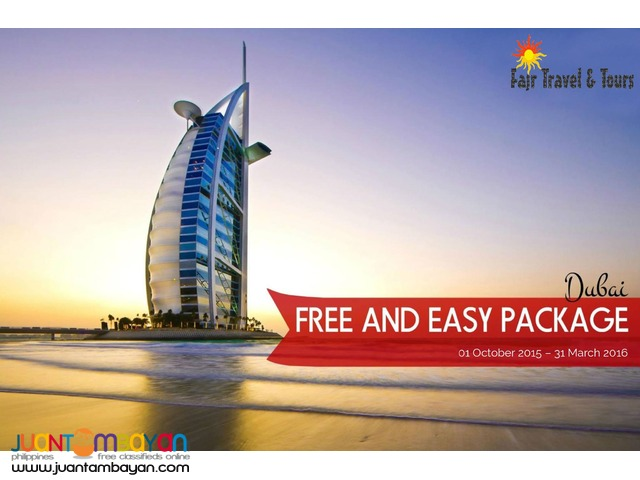 DUBAI FREE & EASY PACKAGE