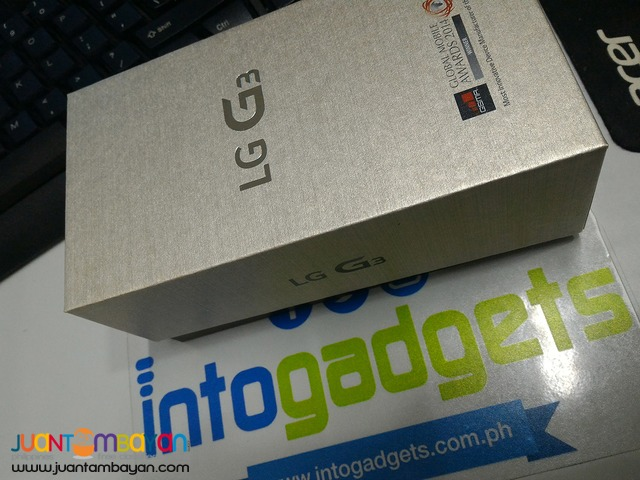 Brand New, Authentic and Original - LG G3 32gb White color only