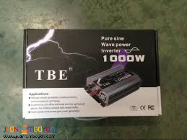 1000W Pure Sine Wave Inverter - TBE Power Inverter