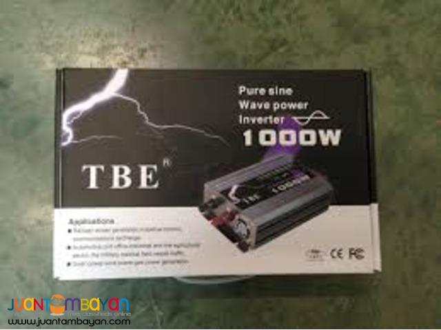 1000W Pure Sine Wave Inverter - TBE Power Inverter