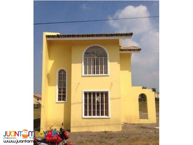 Single Detached House in Bacoor thru Pagibig near Daanghari