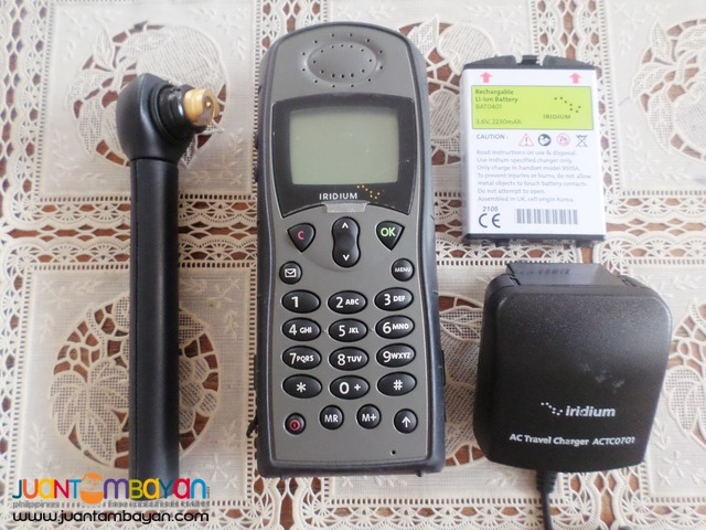 satellite phone iridium 9505A brandnew