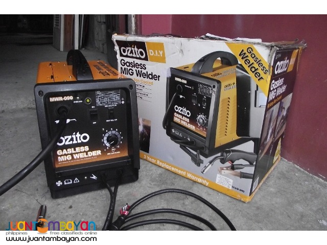 mig welding ozito 90 amps 220v brandnew