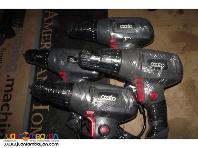drill driver ozito 220v 750wats brandnew