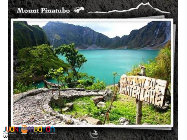 Mt Pinatubo Tour, from Manila