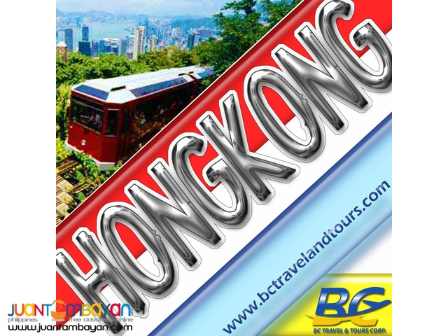 Hongkong Tour Package with City Tour