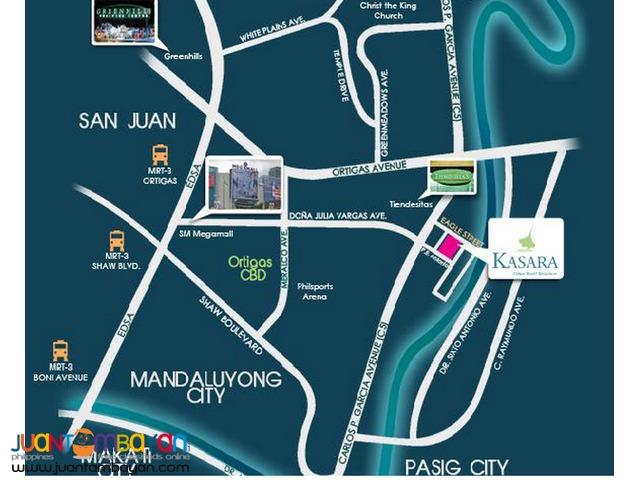 KASARA CONDOMINIUM - 4sale 11K MONTHLY near SM HYPERMARKET Pasig City