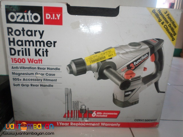 jackhammer portable ozito 1500wats 220v brandnew