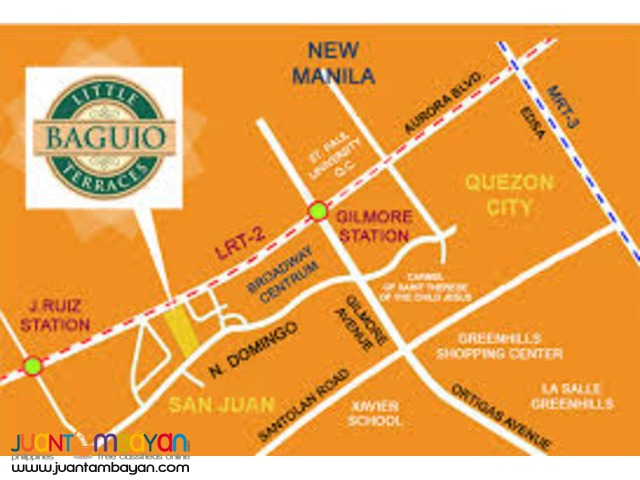 30 sqm rent to own @ little baguio condominium - san juan city