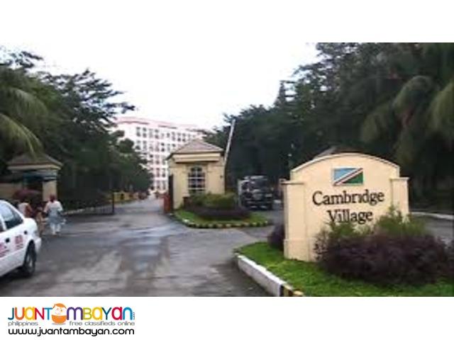 RFO - Cambridge Village 30 sqm 2br  5K+ Cainta / rizal